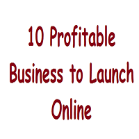 10 Business to Launch Online